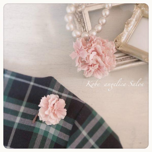 桜のコサージュ,アーティフィシャルフラワー